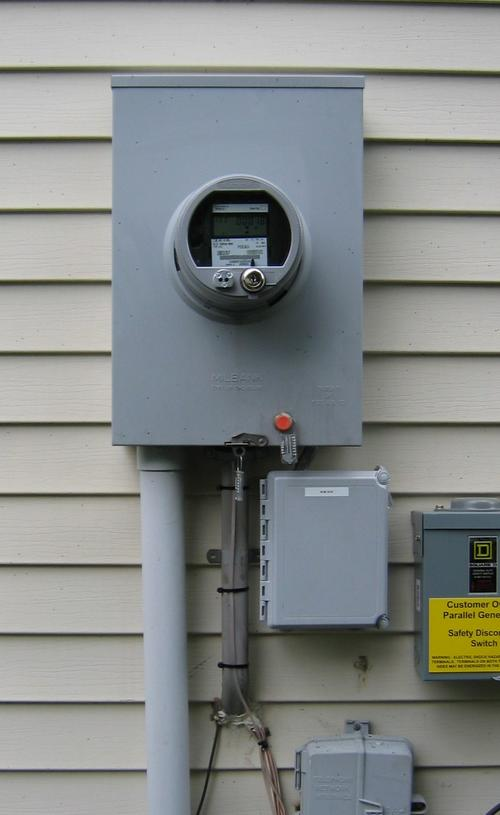 Install Utility Meters : Installation smith electric company