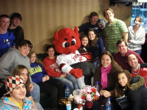 PCOL Youth at Devils game