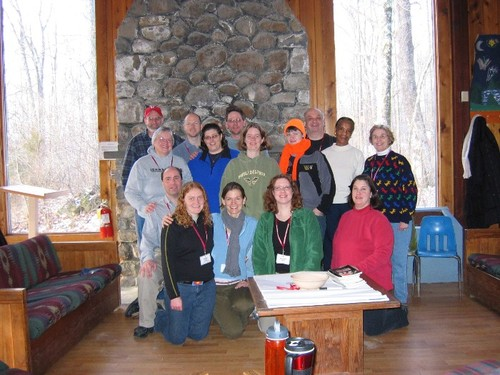 Reconnecting with Faith Retreat 2007 Group